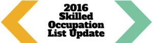 2016Skilled Occupation List Update